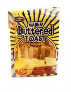 Lauras Manna Buttered Toast Biscuits | Buy Online at the Asian Cookshop